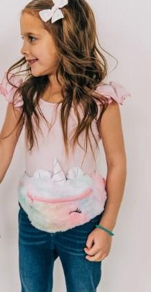 ver riñonera niña unicornio